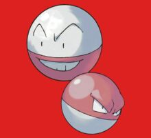 Voltorb and Electrode by Stephen Dwyer