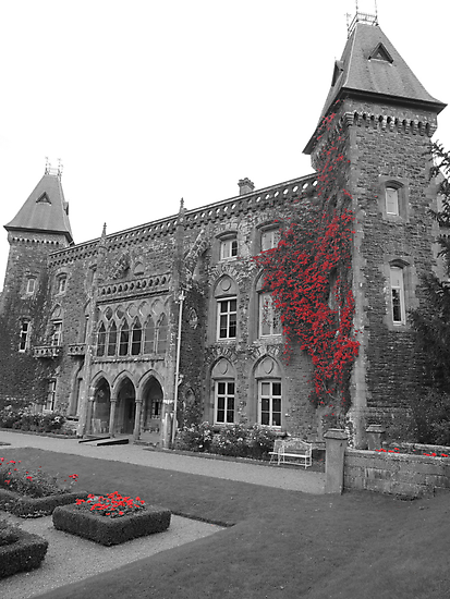 Newton House in the Red (South Wales) by CreativeEm