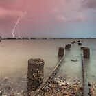 quiet lightning storm by evlloyd