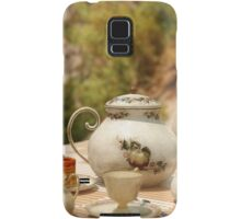 A Mad Tea Party - Alice In Wonderland Art Samsung Galaxy Case/Skin