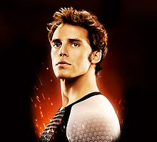 The Hunger Games: Catching Fire - Finnick Odair by dellycartwright