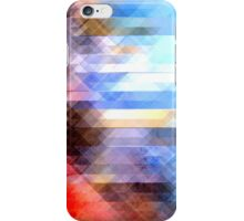Abstract Textured Geometry iPhone Case/Skin
