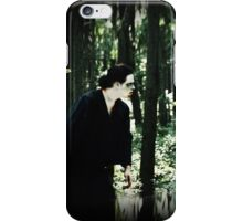 Real Zombie in the Woods iPhone Case/Skin