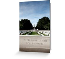 Delville Wood Greeting Card