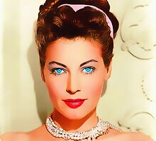 Ava Gardner in One Touch of Venus by Art Cinema Gallery
