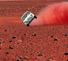 first wheelie on mars by sebmcnulty