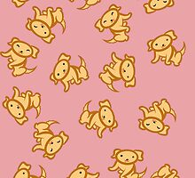 Dogs (Yellow Lab)! [Pink] [iPad] by Kashidoodles