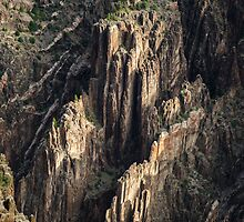 Canyon Spire - Black Canyon of the Gunnison National Park, Colorado by Jason Heritage