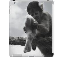 London Monkey Sock iPad Case/Skin