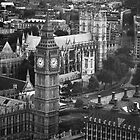 Busy London by Jane Ruttkayova