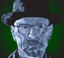 Breaking Bad - Heisenberg Blue Meth - Walter White by Kodi  Sershon