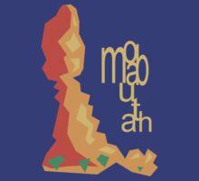 Balanced Rock Illustration Moab Utah by strayfoto