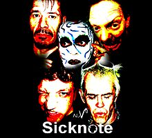 SICKNOTE phone cover 3 by norrisnuvo