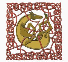 Celtic Illumination - Horse Knot by William Martin
