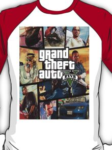 Gta 5 Custom Box Art T-Shirt