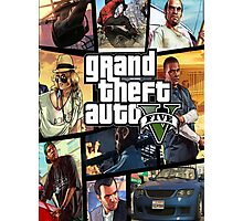 Gta 5 Custom Box Art Photographic Print