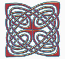 Celtic Illumination - Square Knot by William Martin