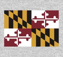 Maryland Flag by cadellin