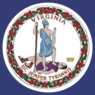 Virginia Flag by cadellin