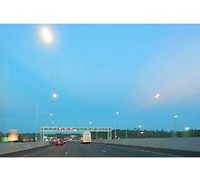 UFO Freeway Photographic Print
