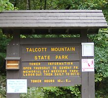 Talcott Mountain State Park by CapeCodGiftShop