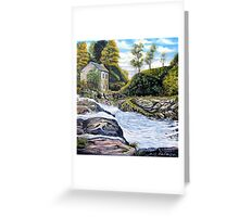 The Mill on the River Greeting Card