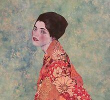 Klimt Series 1 by Kanchan Mahon