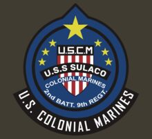 Aliens - U.S.S. Sulaco - Colonial Marine Corps (Insignia) by James Ferguson - Darkinc1