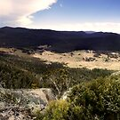 Orroral Valley Panorama by Peter Gray
