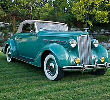 1937 Packard 120 Convertible by DaveKoontz
