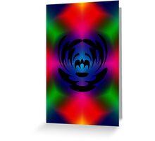 The Clown Colour Greeting Card