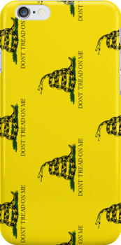 Smartphone Case - Gadsden (Tea Party) Flag IV by Mark Podger