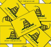 Smartphone Case - Gadsden (Tea Party) Flag VI by Mark Podger