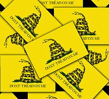 Iphone Case - Gadsden (Tea Party) Flag VIII by Mark Podger