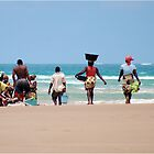 WHEN THE DAYS CATCH ARRIVES - MOZAMBIQUE by Magaret Meintjes