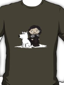 Stewie Griffin is Jon Snow game of thrones T-Shirt