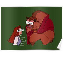 Keep Calm: Temper Temper Poster