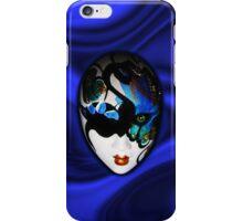 Blue Velvet Venice Mask  iPhone Case/Skin
