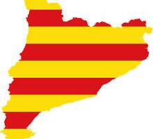 Catalonia Flag Map by abbeyz71