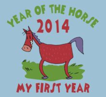 Born Year of The Horse 2014 Baby Kids Clothes