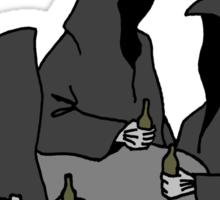 Nazgul Having a Beer Sticker