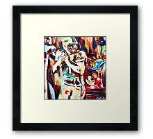 One Fan's Friction Framed Print