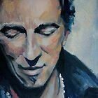 It's Boss Time II - Bruce Springsteen Portrait by Khairzul MG