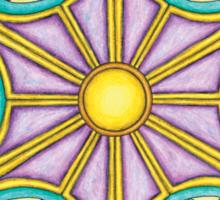 Portal Mandala T-Shirt - Full Color Sticker