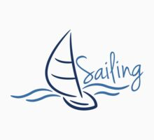 Sailing Boad Waves Logo by Style-O-Mat