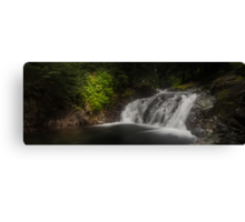 Unknown Falls Above Denny Canvas Print