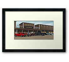 West Town Water Hole Framed Print