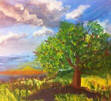 A Sunset Tree by Terri Holland by Terri Holland