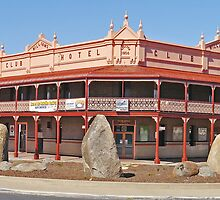 Club Hotel, Glen Innes, New South Wales, Australia by Margaret  Hyde