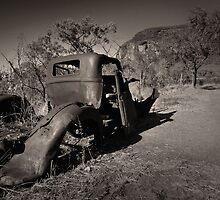 Rusting quietly by Matthew Larsen